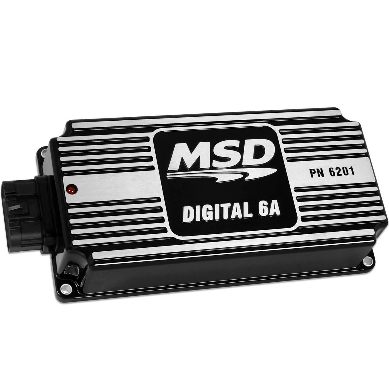 MSD62013, Ignition Box, Digital 6A, Digital, CD Ignition, Multi-Spark, 45000V, Black, Each