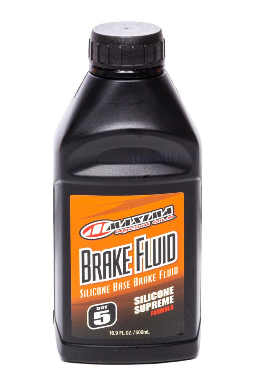 MXO80-81916 DOT 5 Silicone Brake Fluid 16.9oz/24