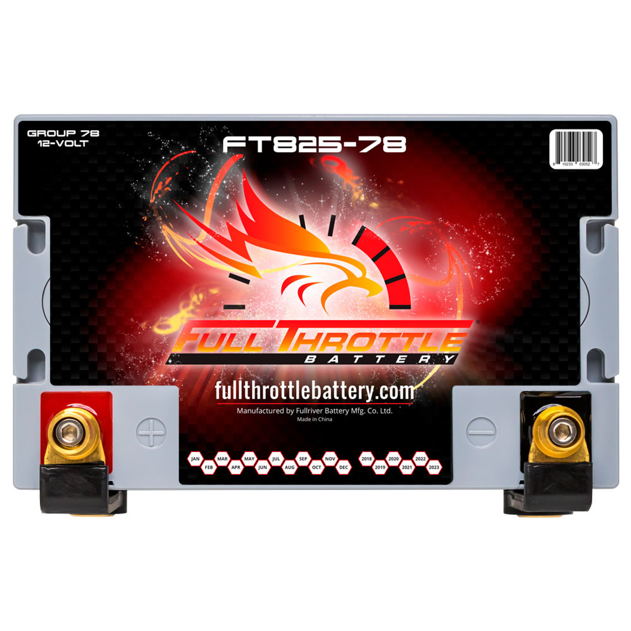 FTBFT825-78, GROUP 34/78 High-Performance AGM Battery