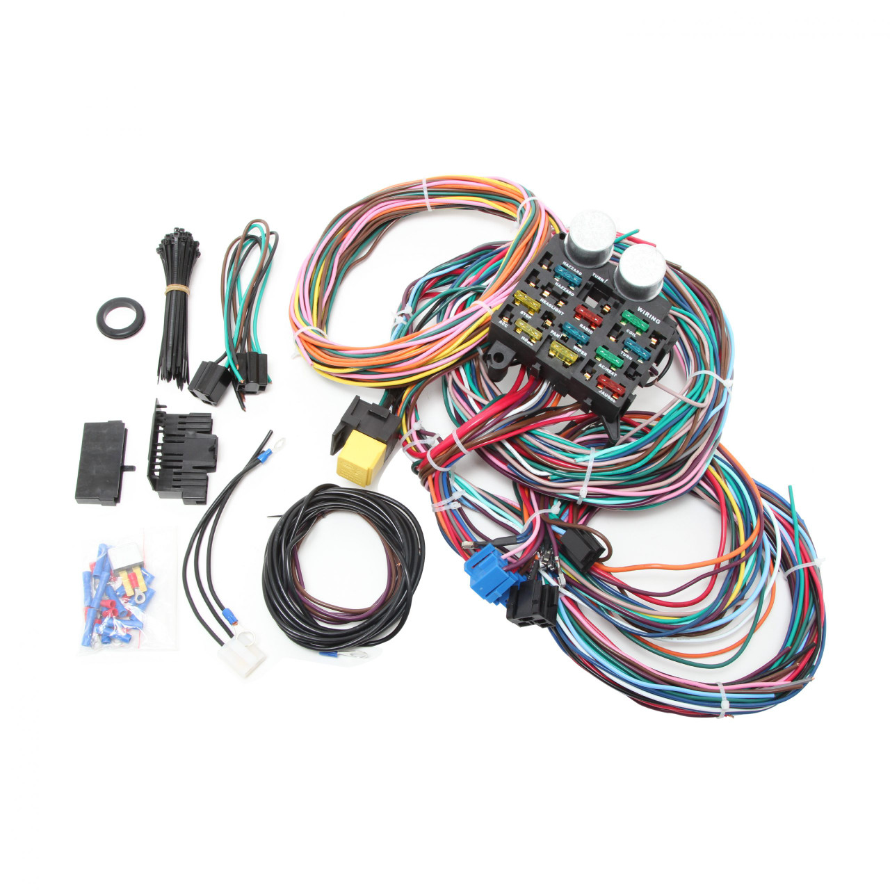 R1002X, UNIVERSAL 12 CIRCUIT WIRE HARNESS KIT