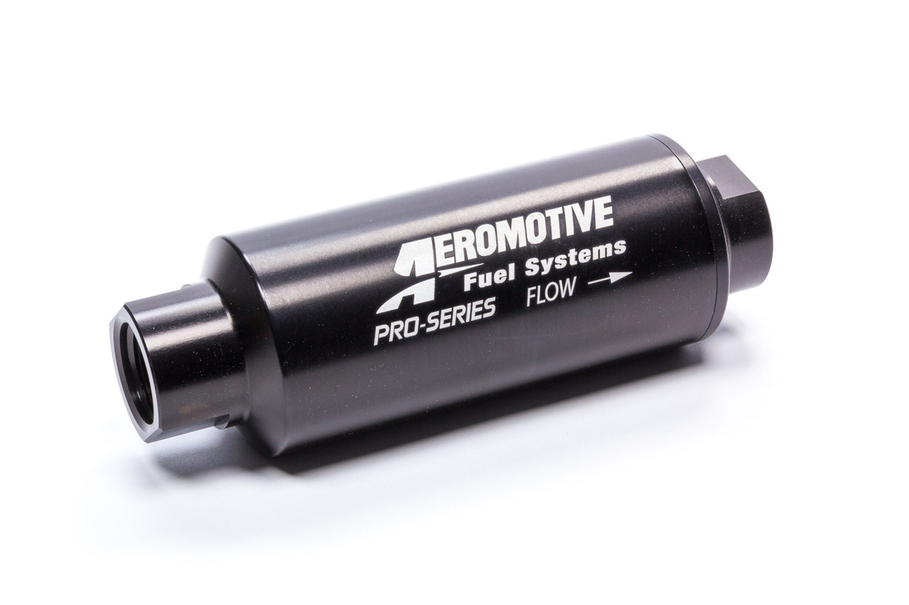 AFS12302, Fuel Filter, Pro-Series, In-Line, 100 Micron, Stainless Element, 12 AN Female