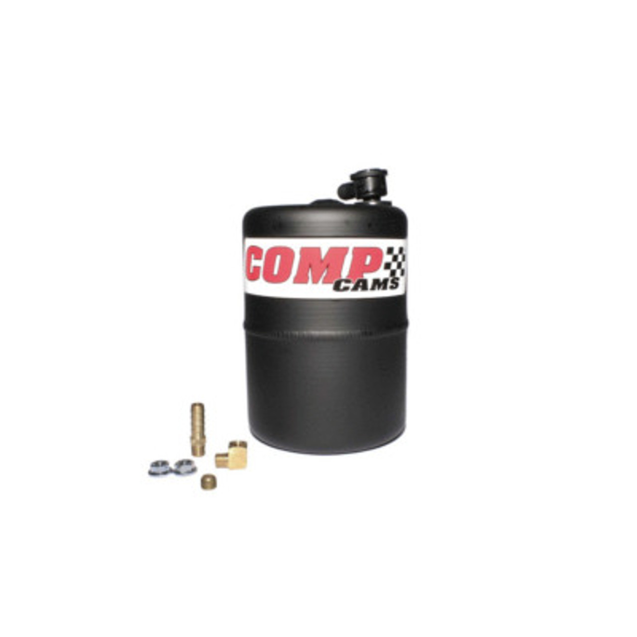 COM5200, VACUUM CANISTER ALUMINUM BLACK POWDER COATED