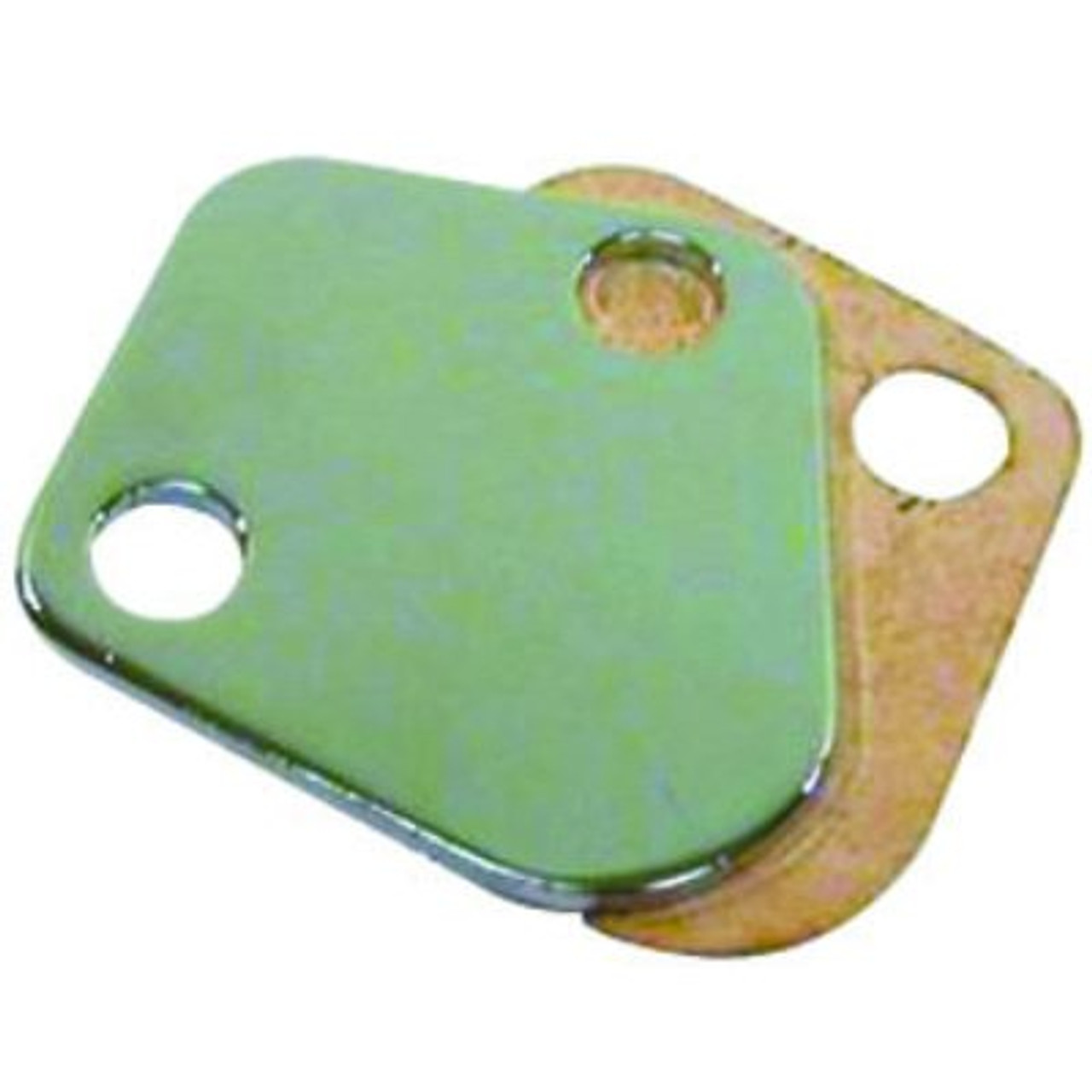 RPCR2058, CHROME STEEL BB CHEVY 396-454 & MORE FUEL PUMP BLOCK-OF