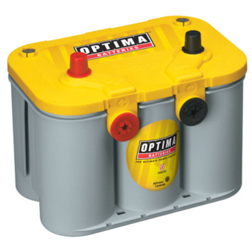 OPT8014-045, Battery, YellowTop Deep Cycle, AGM, 12V, 750 Cranking Amps, Top