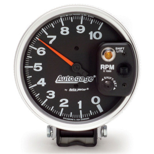 ATM233903, 5IN AUTO GAGE MONSTER TACH W/SHIFT LIGHT