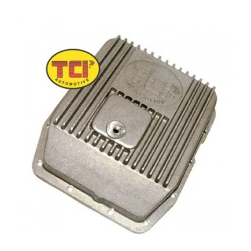 TCI438000, CAST ALUM DEEP TRANS PAN FORD AOD/AODE