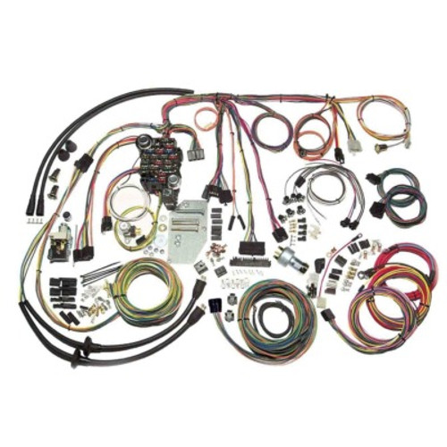 AAW500423, 55-56 CHEVY CLASSIC UPDATE WIRING SYSTEM