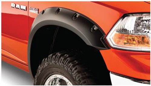 BUS50037-02, Fender Flare; Pocket Style (R); 2-1/2 Inch Tire Coverage; Matte