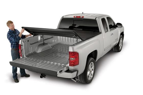 TFX2001, SOFT TRI-FOLD TONNEAU COVER 09-UP RAM 5'7""