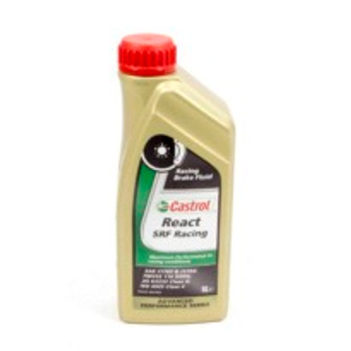 ALL78115, CASTROL,Brake Fluid, Castrol SRF React, DOT 4, 33.8 oz,