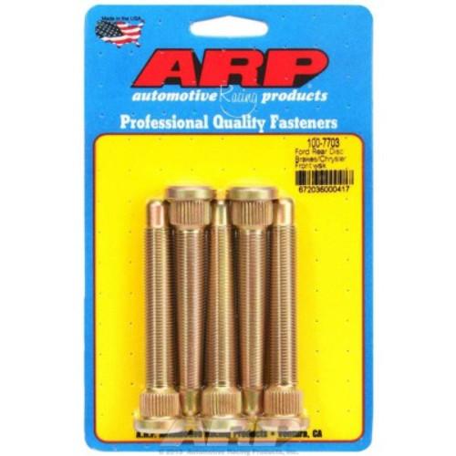 ARP100-7703, WHEEL STUD KIT - 1/2-20 3.500/.625 KNURL (5)
