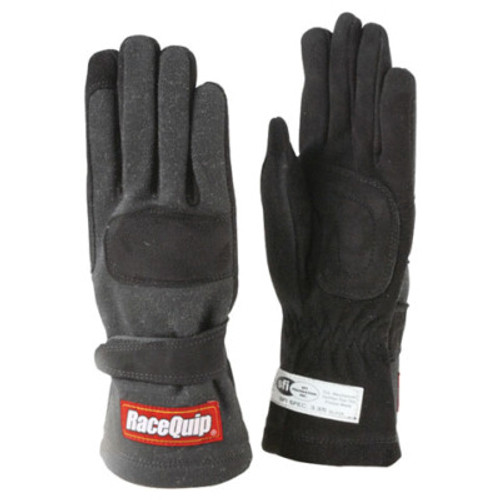 RQP355006, GLOVES DOUBLE LAYER    X-LARGE BLACK SFI