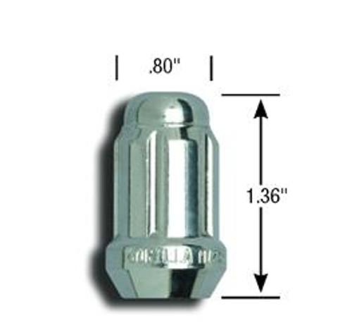 AME21188HT, 1/2 SD LUG NUTS