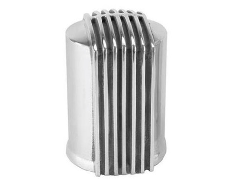 SPW92517480, Finned Aluminum Engine Oil Filter Cover
