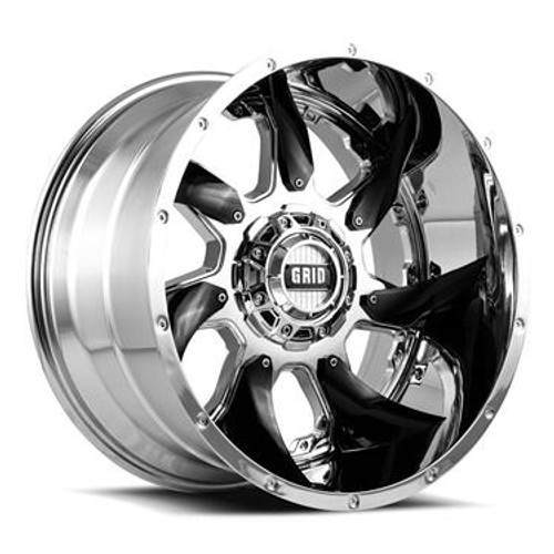 GIDGD0120090880C1524, New from GRID WHEELS, GRID,GD01; 20 Inch Di