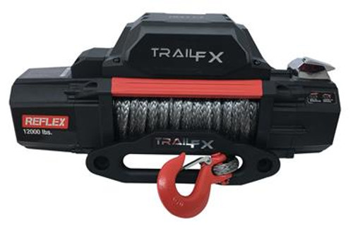 TFXWRS12B, TRAIL F/X, Winch; TFX Reflex Winches; Vehicle Mounted; Vehicle Re