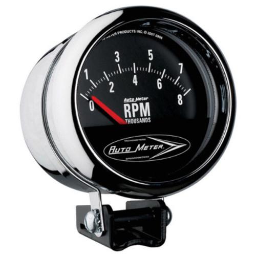 ATM2897, AUTOMETER,,Tachometer, Traditional Chrome, 8000 RPM, Ele