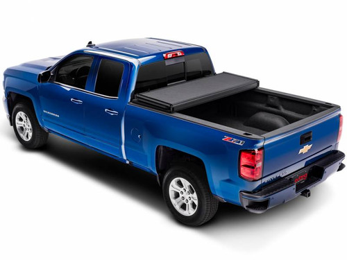 EXT83455, 2014-18 CHEVROLET SILVERADO/GMC SIERRA, 1500 5.8' BED EXTANG SOLID FOLD 2.0 TONNEAU COVER