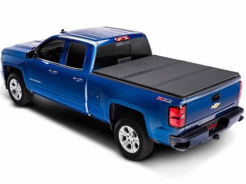 EXT83450, 2014-18 CHEVROLET SILVERADO/GMC SIERRA, 1500 6.5' BED EXTANG SOLID FOLD 2.0 TONNEAU COVER