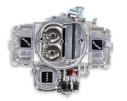QFTBR-67258, Carburetor, Brawler Diecast, 4-Barrel, 770 CFM, Square Bore, Electric Choke, Vacuum Secondary, Dual Inlet, Polished, Each