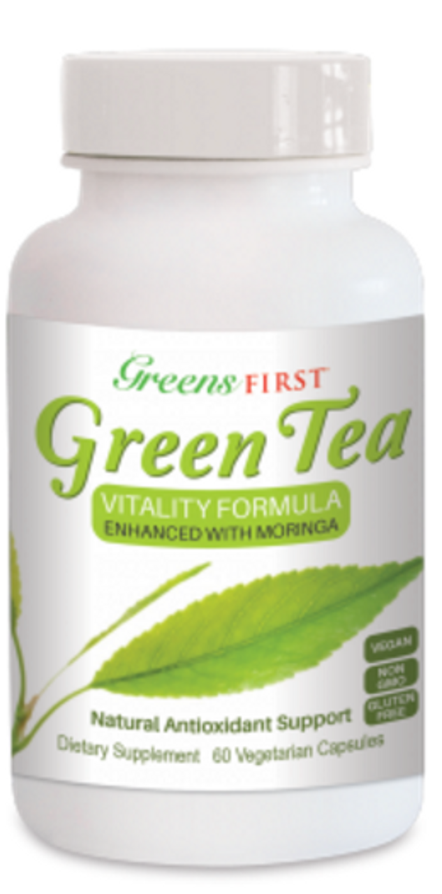 Green Tea - Enhanced With Moringa (60 Capsules) -15% OFF!