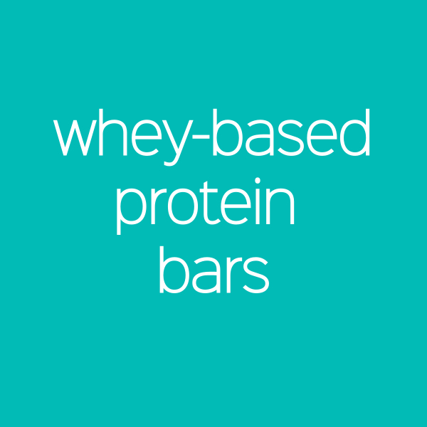 Whey-Based Protein Bars