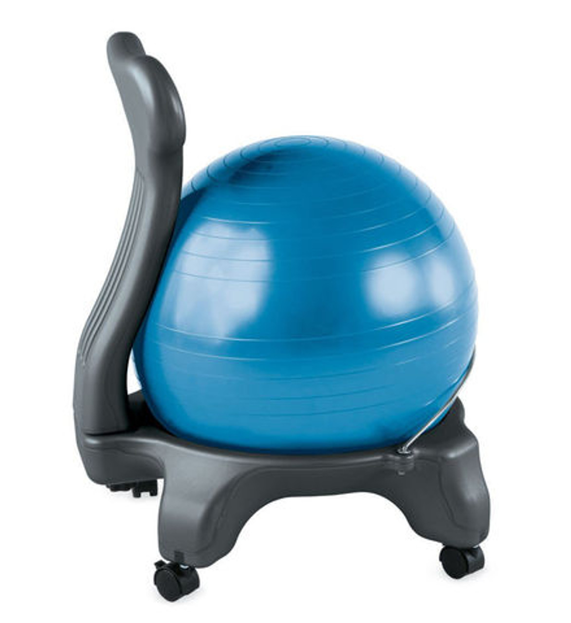 Phenomenal Modern Ball Chair With Locking Casters Short Links Chair Design For Home Short Linksinfo
