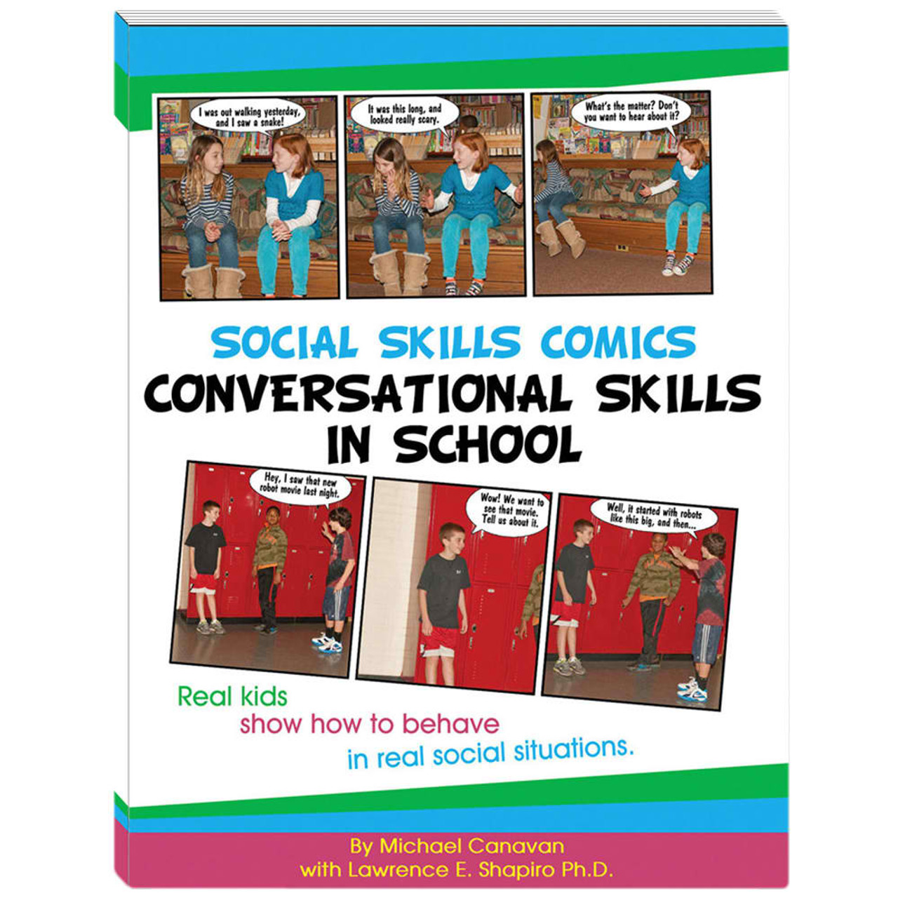 Social Skills Comics (Conversation Skills in School)