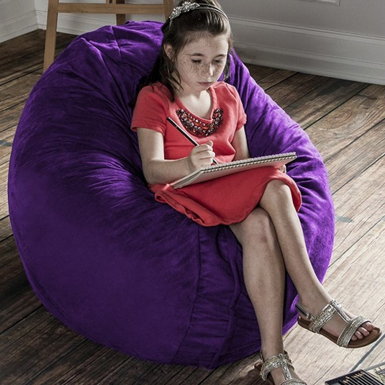 Remarkable Kids Cocoon Bean Bag Chairs Machost Co Dining Chair Design Ideas Machostcouk
