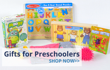 Gifts for Preschool Children with Autism