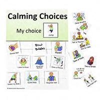 Calming Choices Chart