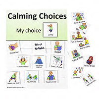 Calming Choices Chart