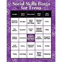 Social Skills Bingo For Teens