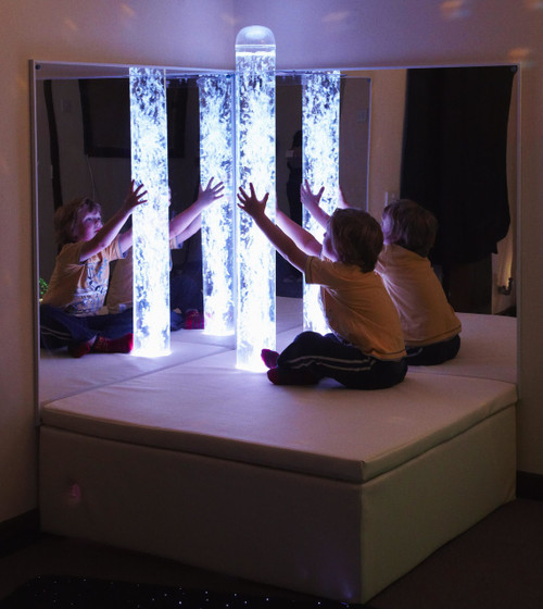 Bubble Tube Mirror Pair - Sensory Room Furniture