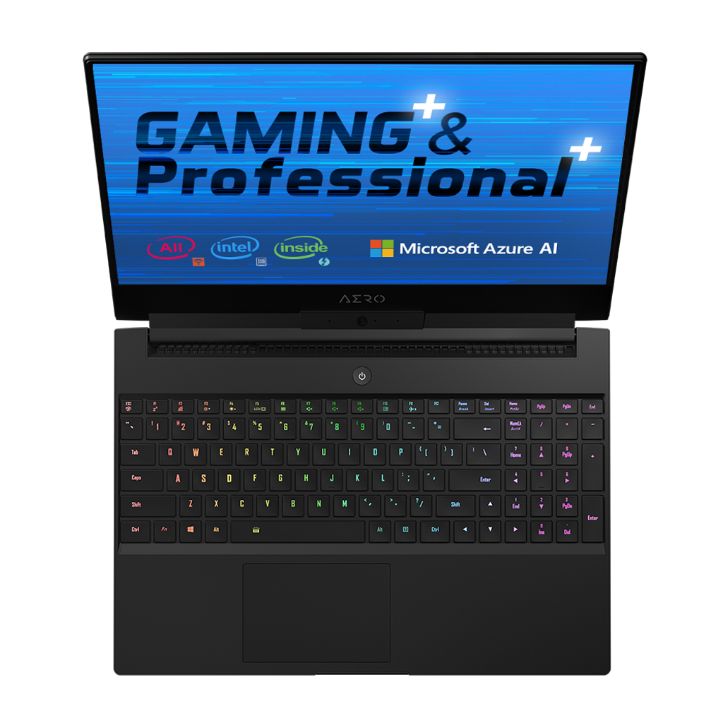 "GIGABYTE AERO 15-X9-9RT4K5MP Core i9-8950HK NVIDIA GeForce RTX 2070 Memory 32GB SSD 1TB Win10 Pro High-End 15.6"" 4K UHD Gaming Laptop"