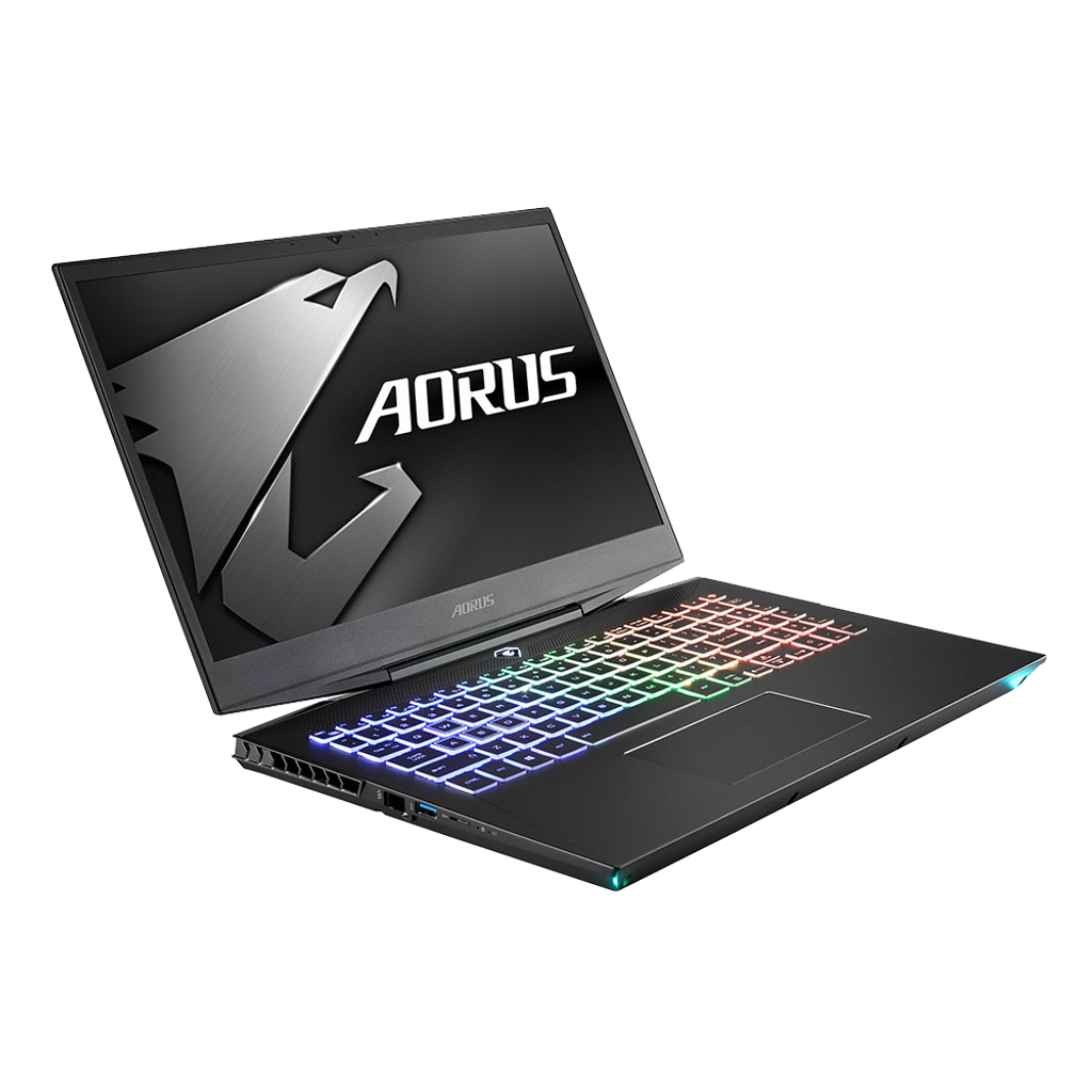 "AORUS 15-W9-RT4BD Core i7-8750H NVIDIA GeForce RTX 2060 Memory 16GB Intel SSD 512GB HDD 2TB Win10 15.6"" FHD LG IPS 144Hz Gaming Laptop"