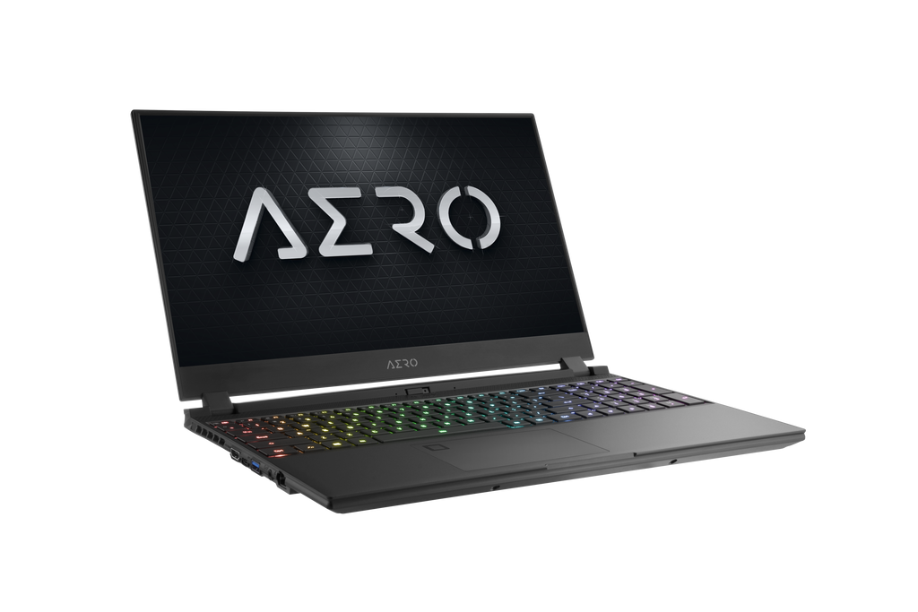 AERO 15 OLED YA-9US5750SP  UHD AMOLED i9-9980HK NVIDIA GeForce RTX 2080 Max-Q GDDR6 8GB 64GB RAM 1TB M.2 PCIe SSD Windows 10 Pro Creator Laptop