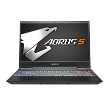 AORUS 5 NA-7US1001SH i7-9750H NVIDIA GeForce GTX 1650 GDDR5 4GB 8 GB Memory  1TB HDD Win10 15.6  LG FHD 144Hz Gaming Laptop