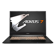 AORUS 7 NA-7US1021SH i7-9750H NVIDIA GeForce GTX 1650 GDDR5 4GB 8 GB Memory 256GB Intel SSD 1TB HDD Win10 17.3 LG FHD 144Hz Gaming Laptop