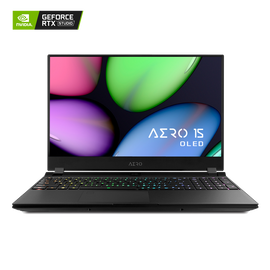 [Refurbished] AERO 15 OLED SA-7US5020SH UHD AMOLED i7-9750H NVIDIA® GeForce GTX 1660 Ti GDDR6 6GB 8GB RAM 256GB M.2 PCIe SSD Win 10 Creator Laptop
