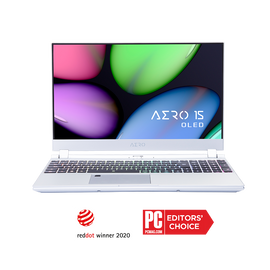 [Refurbished] AERO 15S OLED SA-7US5130SH UHD AMOLED i7-9750H NVIDIA GeForce GTX 1660 Ti GDDR6 8GB 16GB RAM 512GB M.2 PCIe SSD Windows 10  [SILVER]