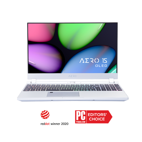 [Refurbished]  AERO 15S OLED XA-7US5130SP UHD AMOLED i7-9750H NVIDIA GeForce RTX 2070 Max-Q GDDR6 8GB 16GB RAM 512GB M.2 PCIe SSD Windows 10 Pro  [SILVER]