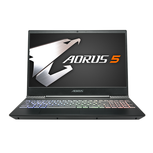 [Refurbished] AORUS 5 NA-7US1121SH i7-9750H NVIDIA® GTX 1650 16 GB Memory 256GB SSD 1TB HDD FHD 144Hz Gaming Laptop