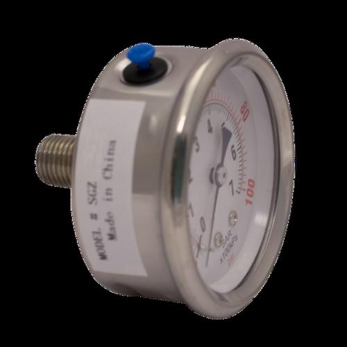 PG-2RL4-G : Ozone Compatible Pressure Gauge