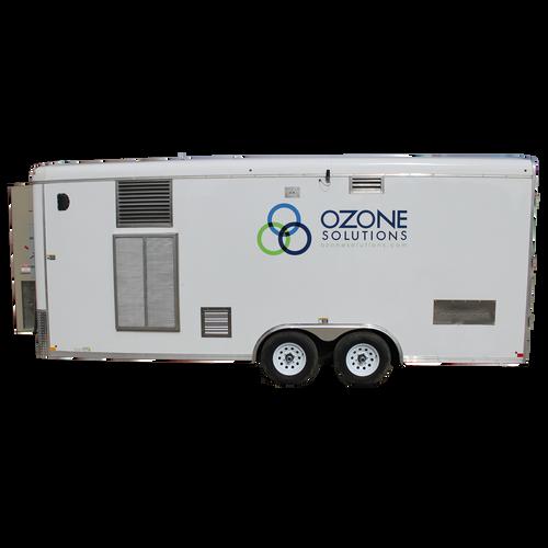 Ozone Remediation Trailer (RMT)-1500 gram/hour