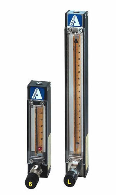 "Flow Meter Aluminum Ozone Compatible - 11"""