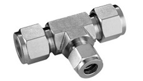 Stainless Steel Compression Reducing Tee