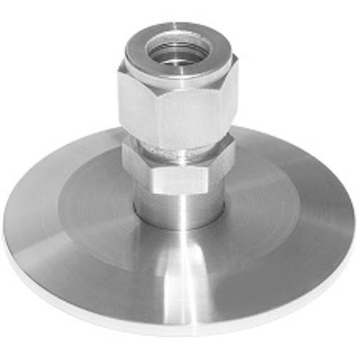 Stainless Steel Compression Adapter Comp to Sanitary