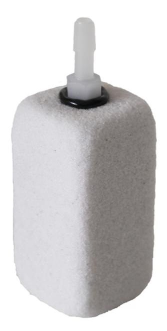 Ozone Compatible Fine Pore Rectangular Diffuser  3 x 1.5 x 1.5-in