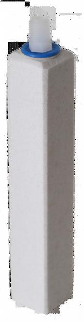 Ozone Compatible Fine Pore Rectangular Diffuser 9 x 1.5 x 1.5-in